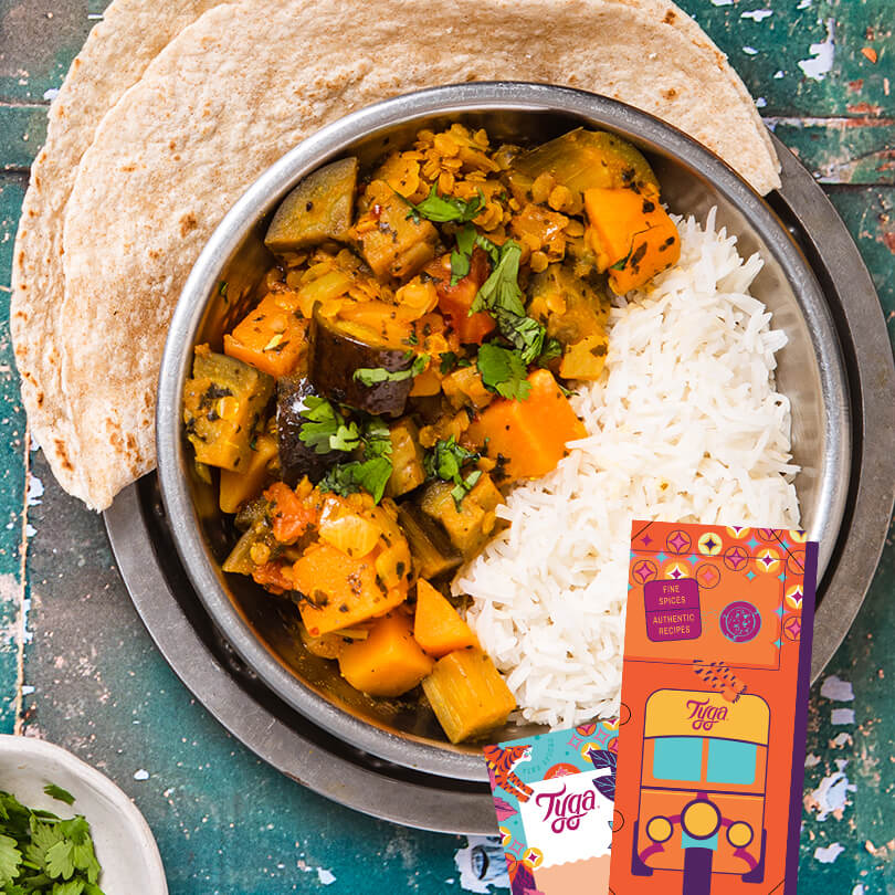 The Vegan Curry Kit (includes gift packaging)